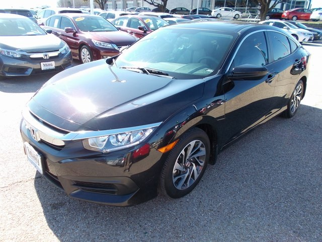 Pre-Owned 2016 Honda Civic EX
