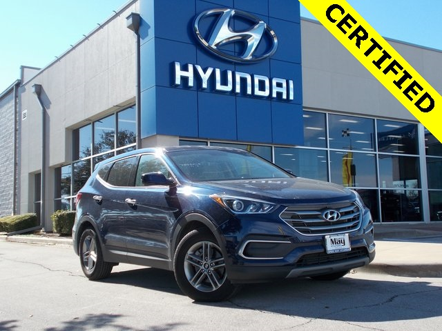 Greg May Hyundai >> Pre Owned 2018 Hyundai Santa Fe Sport 2 4 Base